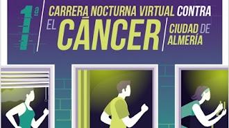 Primera Carrera Nocturna contra el Cáncer de forma virtual.