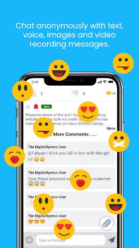 The DigitalXpress - A true freedom of speech app. 1.0 screenshots 4
