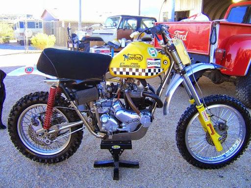 The 750 Norton Desert race presented by Machines et Moteurs.