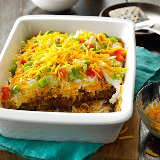 Potluck Taco Casserole Recipe