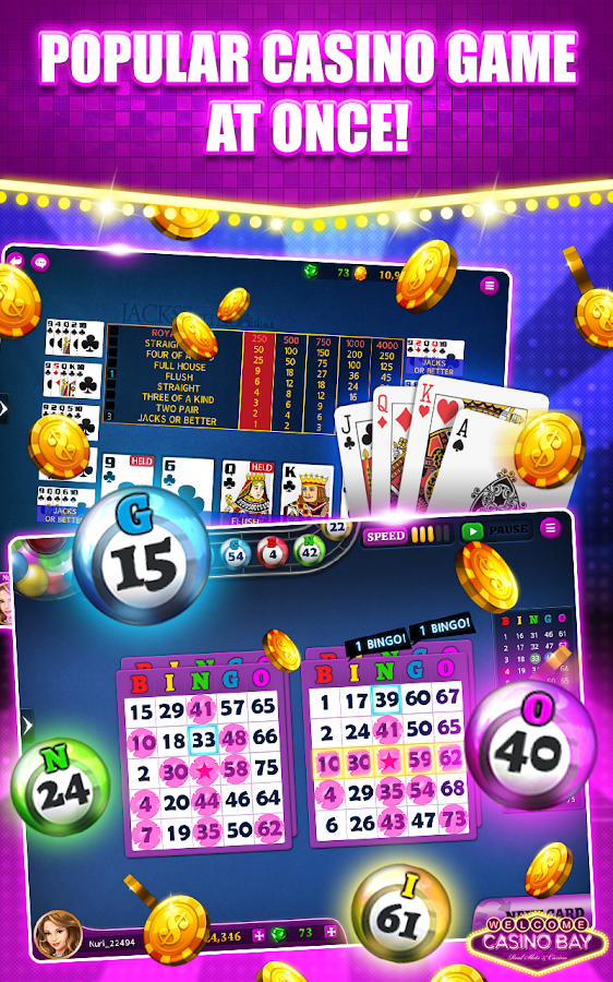 Casino Bay - Bingo,Slots,Poker- screenshot