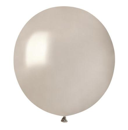 Ballonger helrunda 48 cm, silver