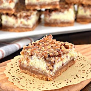 Pecan Pie Cheesecake Bars