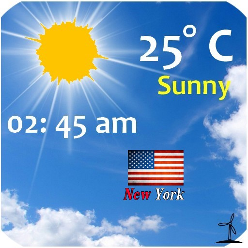 New York Weather, NY Weather 天氣 App LOGO-硬是要APP