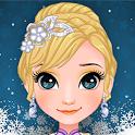 ice princess makeup salon game : spa and dress up icon