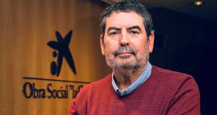 Javier Aristu, en la entrevista con 'Crónica Global', durante las jornadas Catalunya-Andalucía en el Palau Macaya /CG