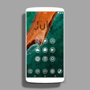 UNO - icon pack Theme HD- screenshot thumbnail
