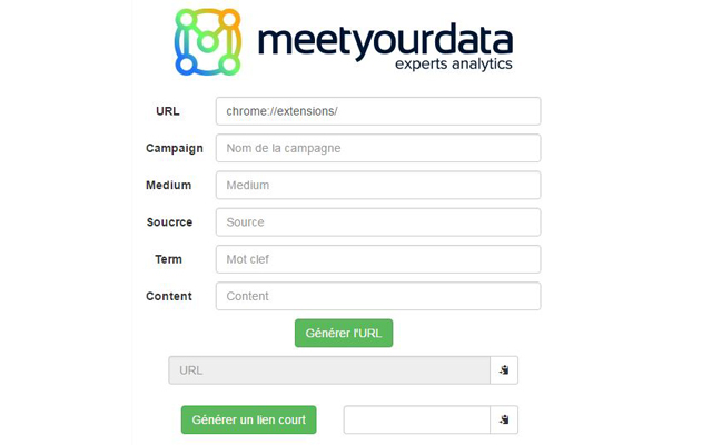 UTM Builder by meet your data