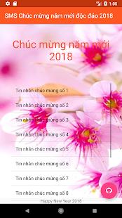 SMS Chúc tết 2018 - náhled