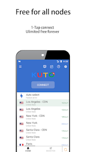 KUTO VPN - A free, fast, secure VPN Screenshot