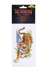 Tatuering, tiger