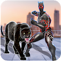 Multi Panther Hero Crime City Battle icon
