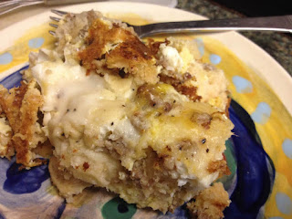 Biscuits & Gravy Breakfast Casserole Recipe