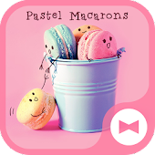 Cute Wallpaper Pastel Macarons Theme