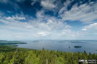 Photo: Vista sobre el lago Pielinem