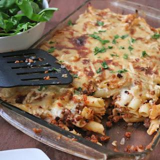 Vegan Macaroni Bechamel.