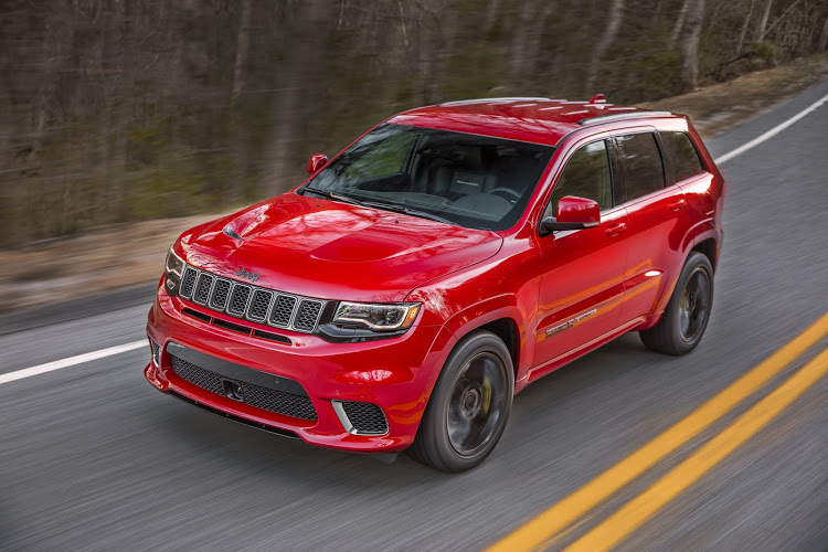 New Grand Cherokee Trackhawk raises the performance bar in the sports SUV segment.