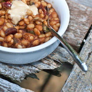 Canadian Maple Baked Beans
