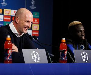"""Philippe Clement protège son joueur: """"Il n'a que 21 ans, qui en Ligue des Champions joue avec des jeunes joueurs""""?"""