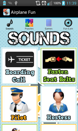 Airplane Games Sounds