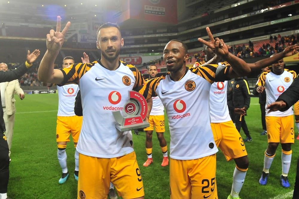 'As a striker my job is to score goals'' says Kaizer Chiefs star Samir Nurkovic