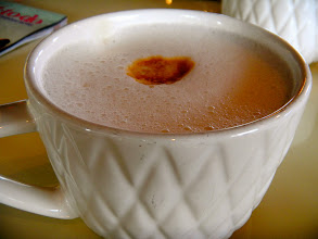 Photo: A nice mug of cappuccino.