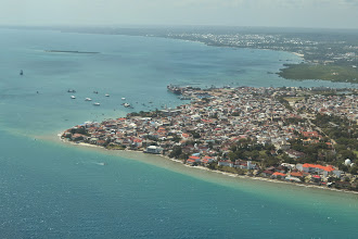 Photo: Flying into Stone Town