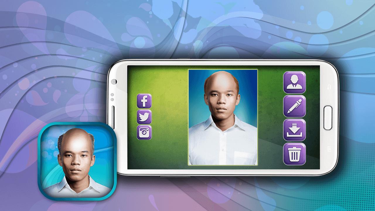 Kepala Botak Lucu Edit Gambar Apl Android Di Google Play