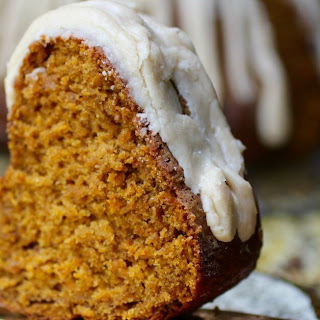 Browned Butter Pumpkin Bundt Cake