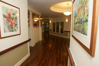 """Photo: Hall leading into """"Piko"""" (Middle)of Care Center."""