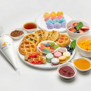 Mochi Waffles Brunch Set (6 pcs)