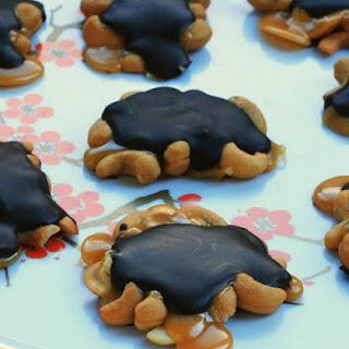 Homemade Caramel Turtles.