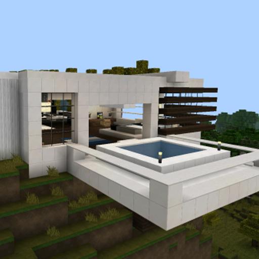 HD限定 Minecraft Pe Modern House