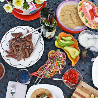 Chile-Lime Skirt Steak Tacos