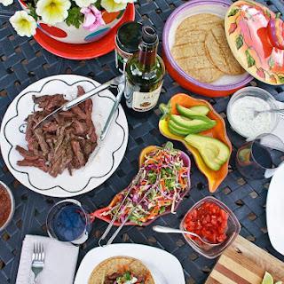 Chile-Lime Skirt Steak Tacos.