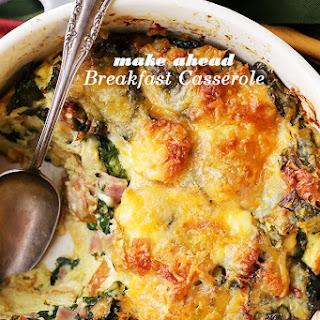 Make Ahead Breakfast Casserole.