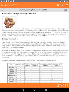 Nutrition Reference Center™- screenshot thumbnail