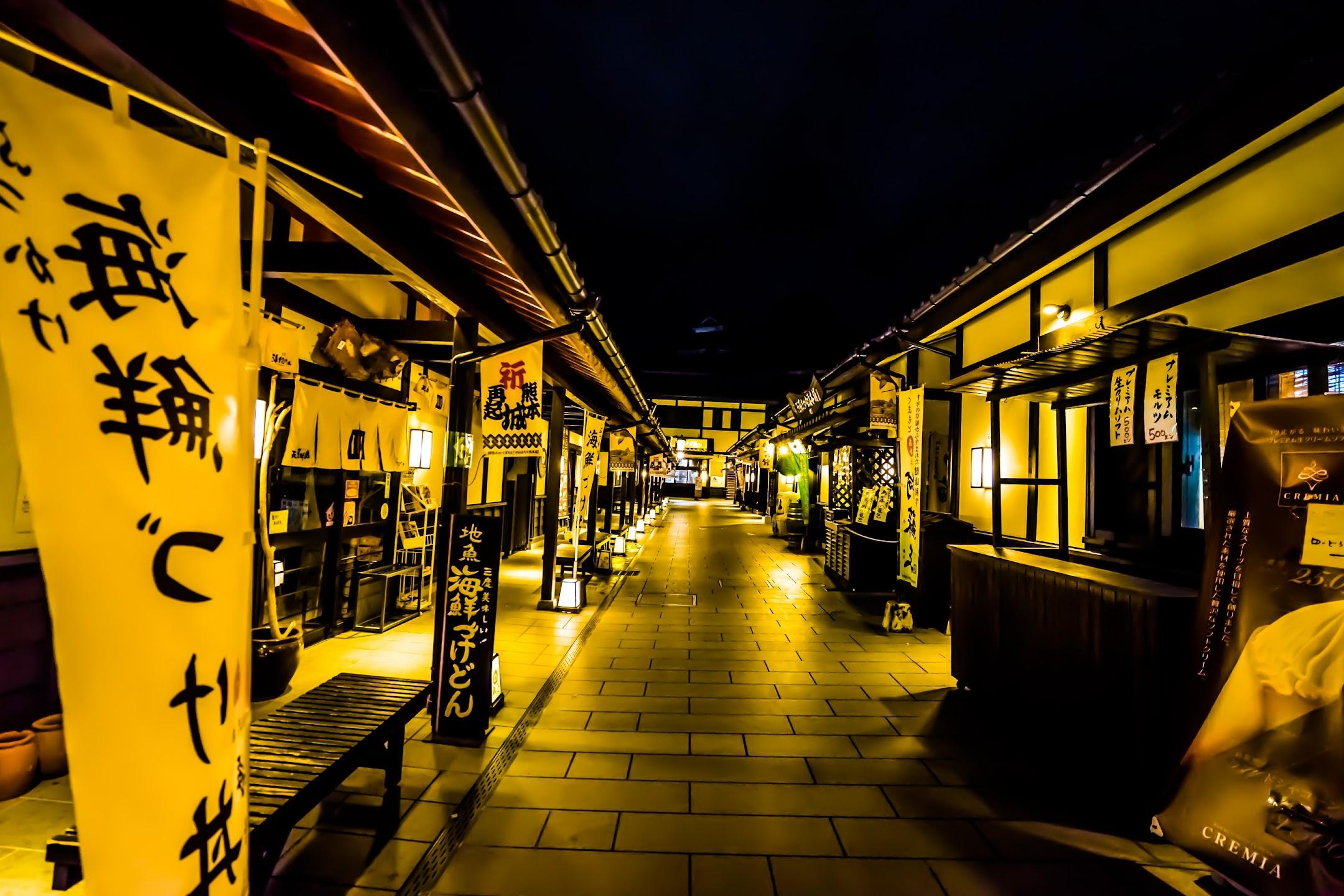 熊本 桜の小路 ライトアップ3