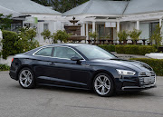 An Audi A5 similar to the one owned by our reader, Songezo Mbambisa.