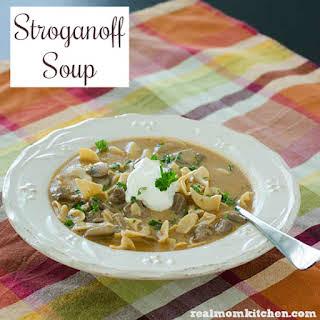 Stroganoff Soup.