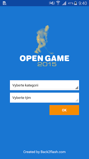 Open Game 2015