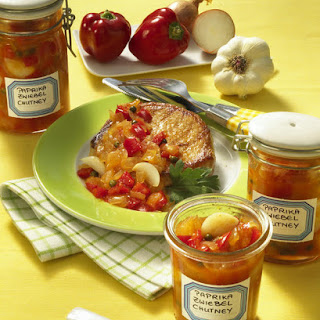 Red Pepper and Onion Chutney.
