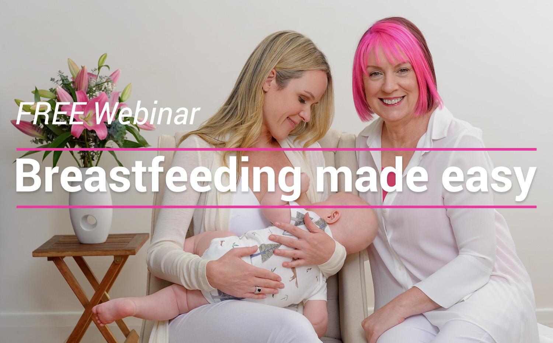 breastfeeding made easy header