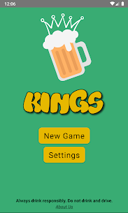 Kings Drinking Game – Classic Cards Drinking Game 1