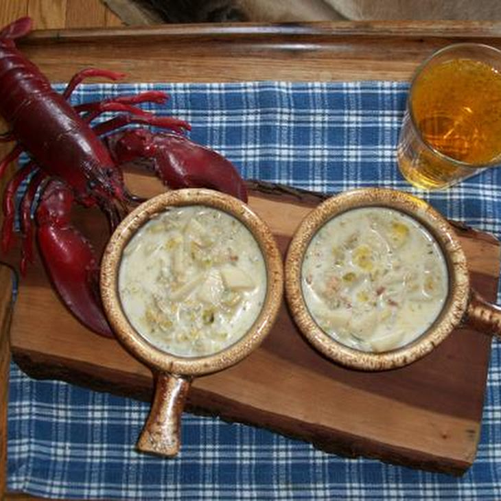 Wicked Good Clam Chowdah