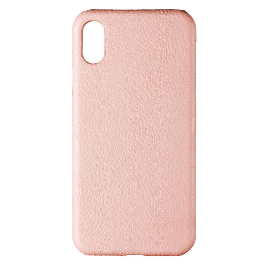 ONSALA COLLECTION Mobil Cover Rosa Läder iPhone X/XS