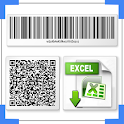 QR & Barcode spreadsheet : Scan QR code & barcode icon