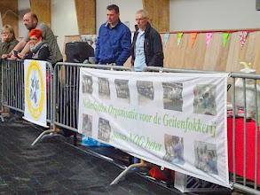 Photo: Dag van het schaap.  Landelijke keuring voor Boer-, Bonte- en Nubische geiten en bokken.  Presentaties van Witte-, Toggenburger- en British Toggenburger geiten.  11 juni 2016.