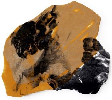 Une image contenant gâteau, chien, chocolat, morceau  Description générée automatiquement