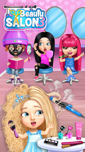 Sweet Baby Girl Beauty Salon 3 - Hair, Nails & Spa 1.0.91 screenshots 4